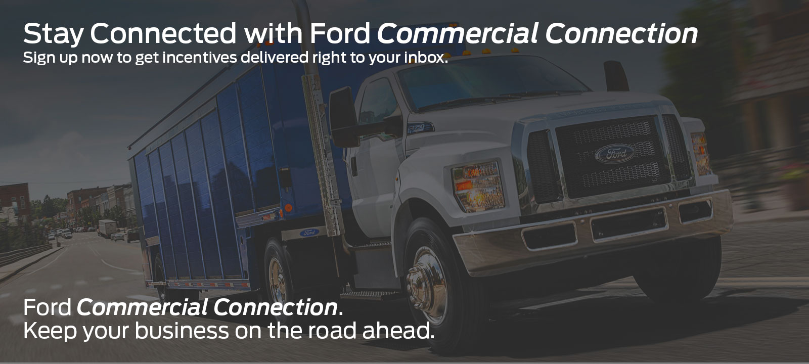Stay Connected with Ford Commercial Connection